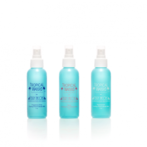 Tropical Waters 4 oz Set of Three Sprays